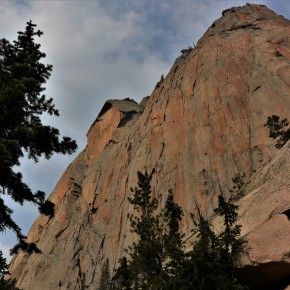 Elephant's Perch - A solid piece of granite