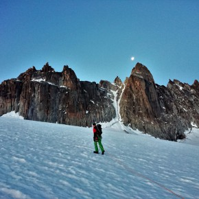 Short approach to the golden traverse